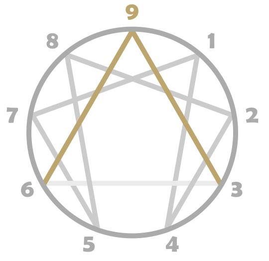 eneagramme type 9