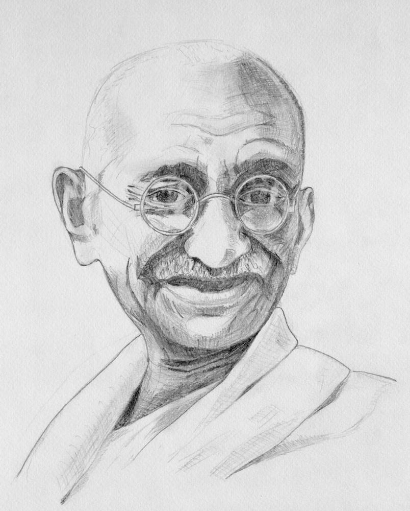 Gandhi une belle définition de l'ennéagramme